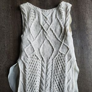 Moth (Anthropologie) Tank Sweater Sz XS